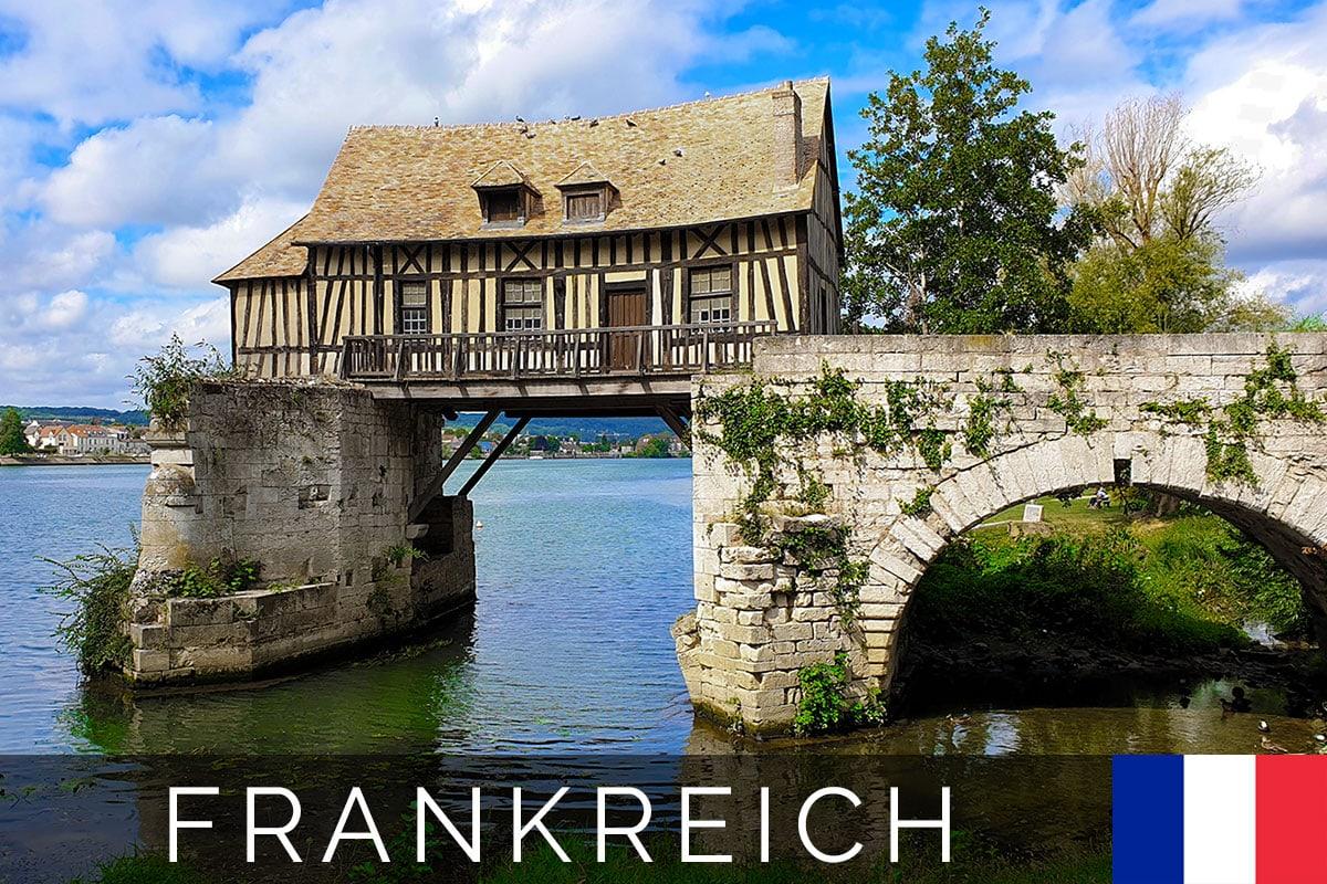 Vernon, Seine, Frankreich, Sehenswürdigkeiten, Fotospots, A-ROSA Flusskreuzfahrt, Reisebericht