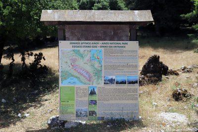 Der Ainos Nationalpark