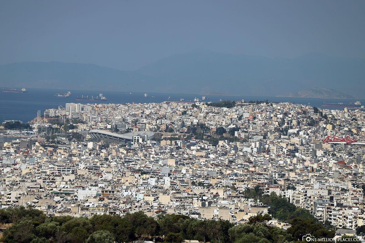Blick auf Athen, Reisebericht, Akropolis