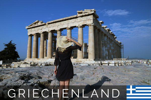 Die Akropolis - Das Wahrzeichen von Athen (Griechenland)