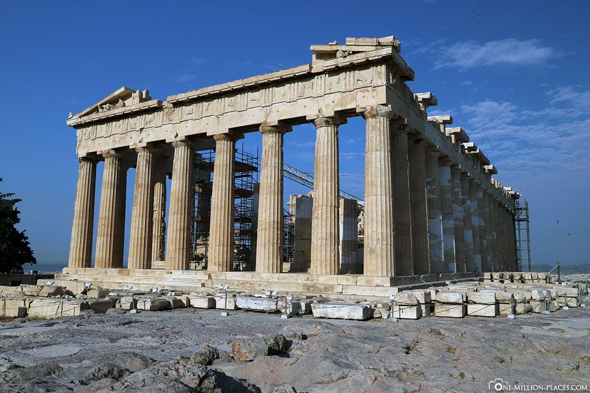Parthenon, Akropolis, Athen, Griechenland, Reisebericht, Blogbeitrag