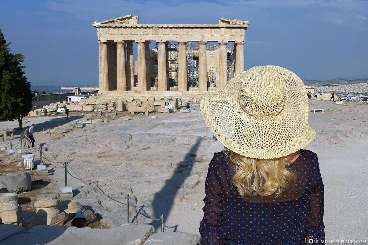 Instagram, Parthenon, Akropolis, Athen, Griechenland, Reisebericht, Blogbeitrag