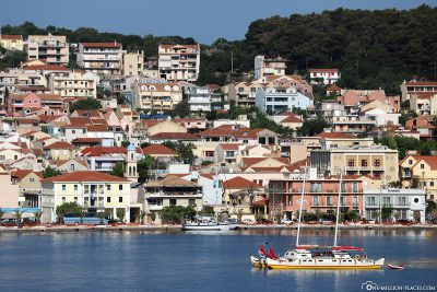 Die Inselhauptstadt Argostoli
