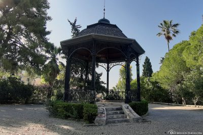 Napier Gardens in Argostoli