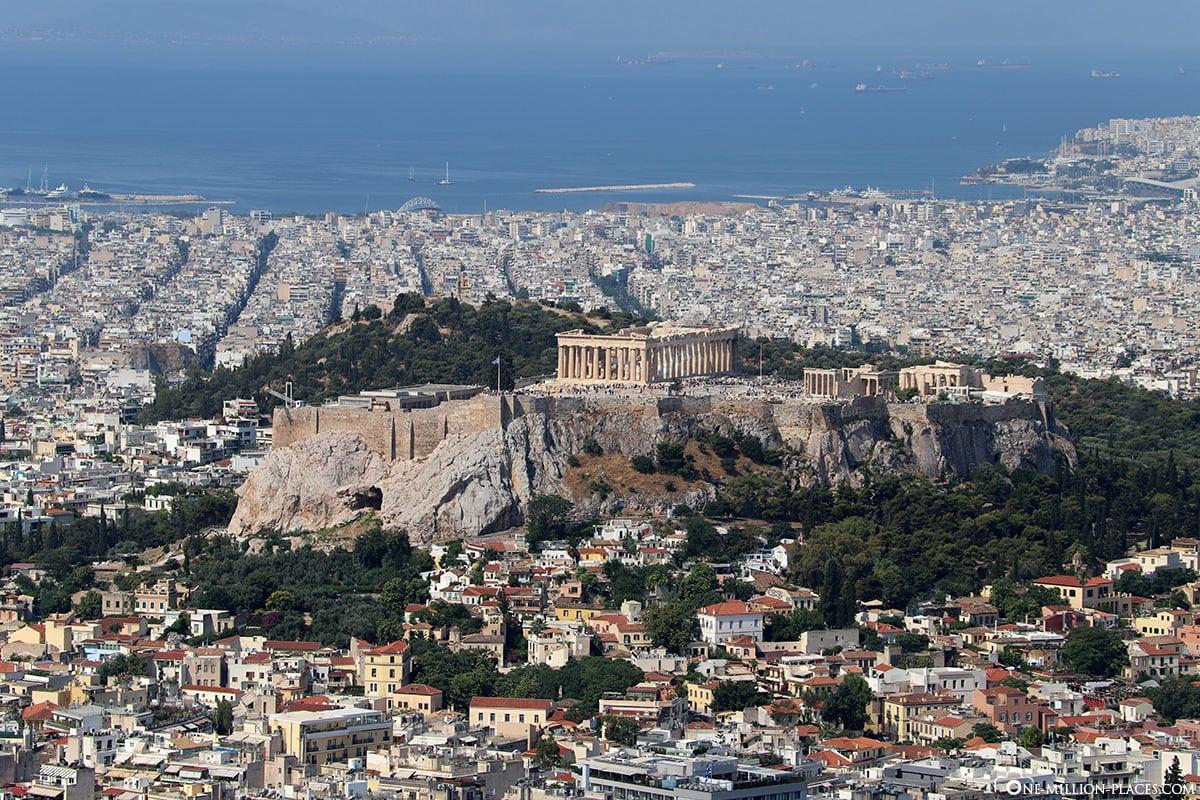 Lykavittos Aussichtsplattform, Akropolis, Athen, Bester Blick, Fotospot, Reisebericht