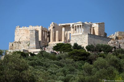 View from the western end of Dionysiou Aeropagitou