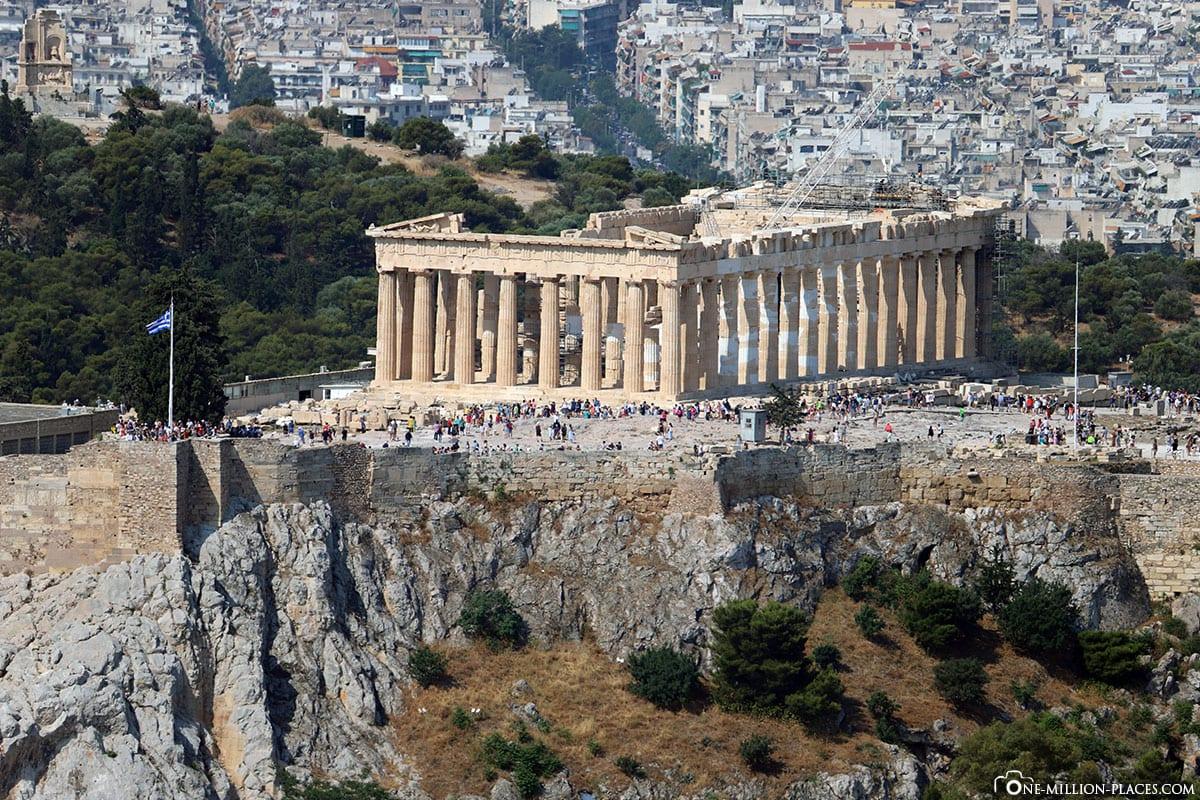 Stadtberg, Akropolis, Athen, Bester Blick, Fotospot, Reisebericht