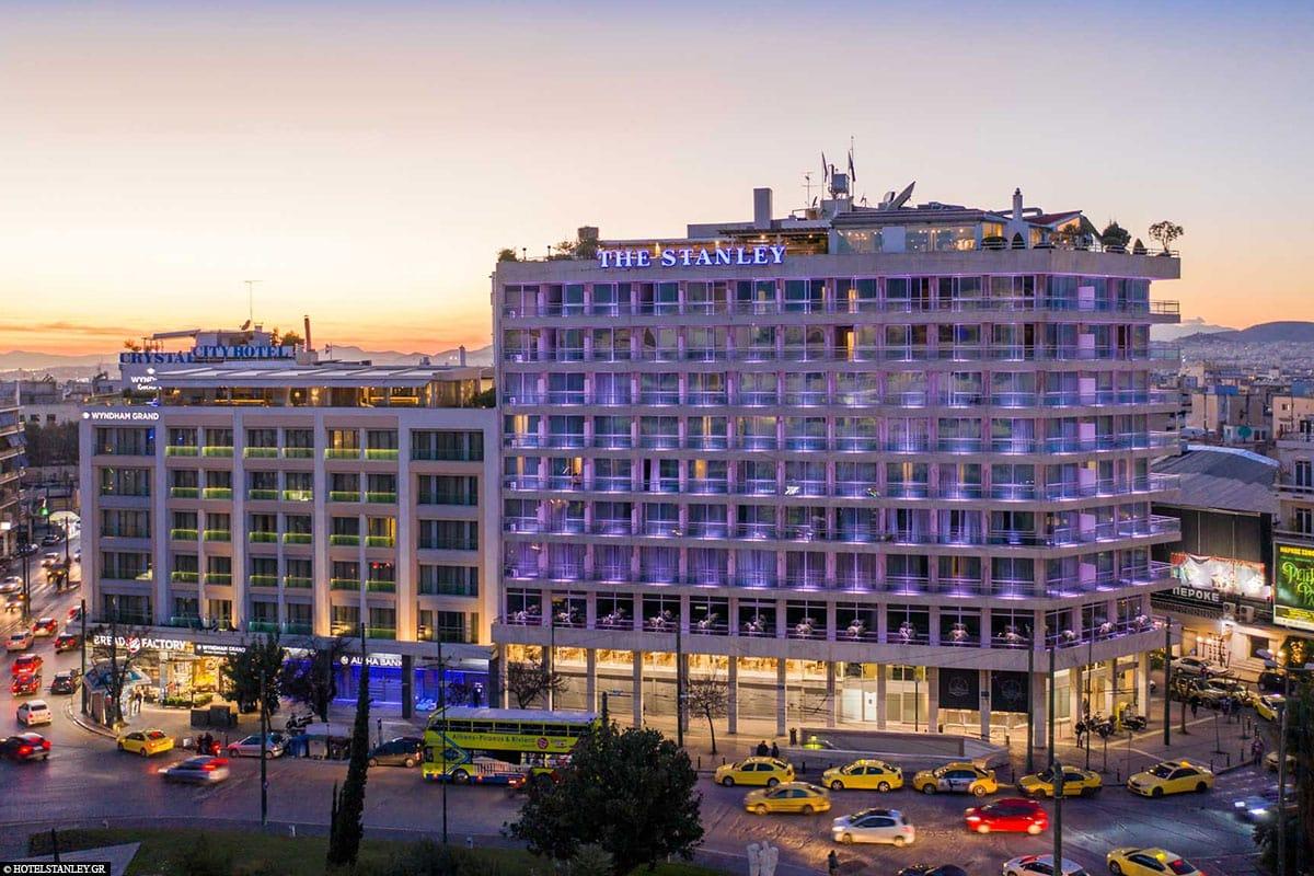 Hotel Stanley, Athen, Erfahrung, Reisebericht