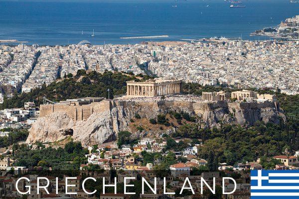 Die Sehenswürdigkeiten von Athen (Griechenland)