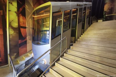 The funicular on the Lykavittos
