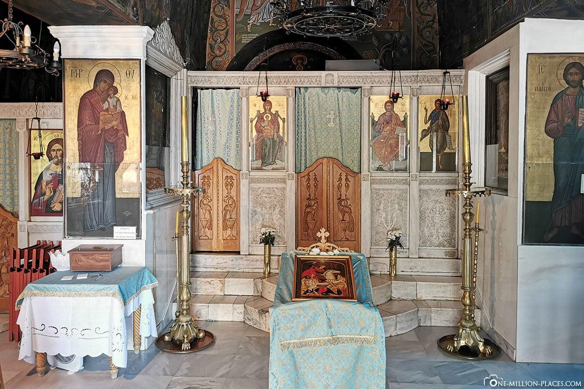 Stadtberg Lykavittos, Sankt-Georgs-Kapelle, Athen, Griechenland, Sehenswürdigkeiten, Reisebericht, Fotospot
