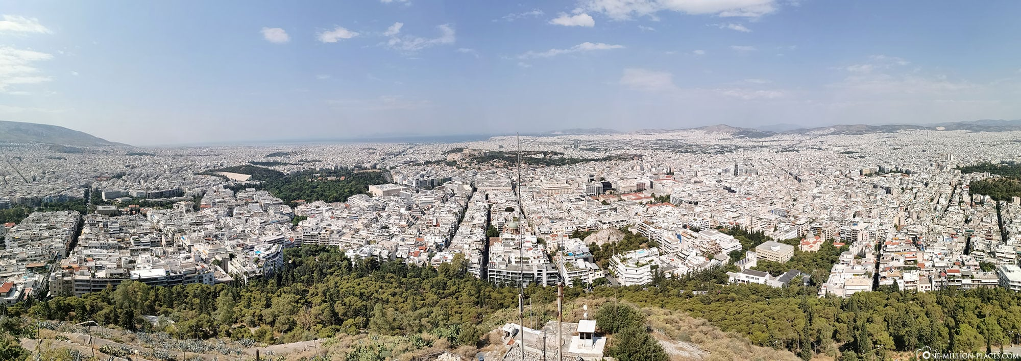 City Mountain Lykavittos, Athens, Greece, Attractions, Travelreport, Photo spot