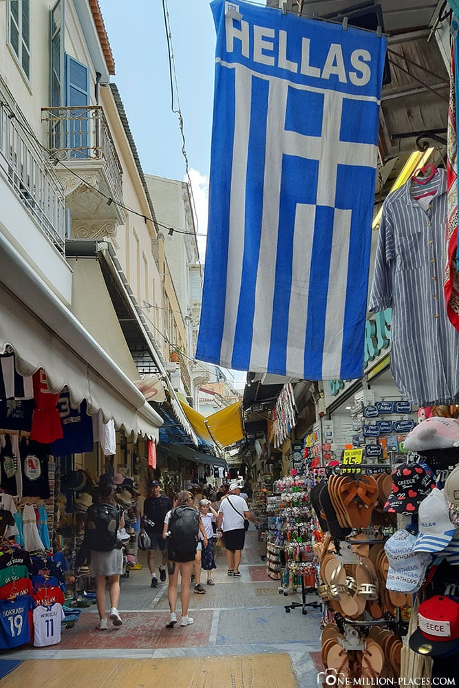 Flagge, Athen, Innenstadt, Griechenland, Sehenswürdigkeiten, Reisebericht, Fotospot