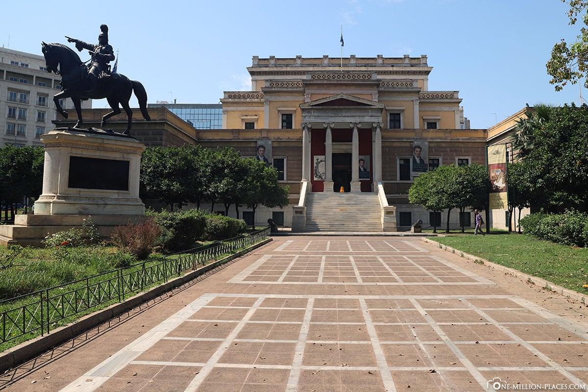 Nationales Historisches Museum, Athener Trilogie, Griechenland, Sehenswürdigkeiten, Reisebericht, Fotospot