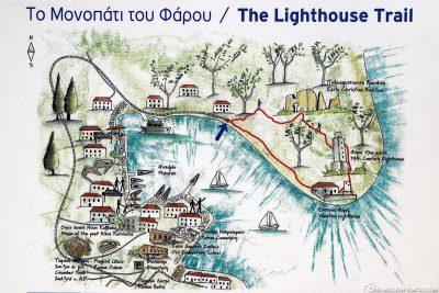 Der Fiskardo Lighthouse Trail