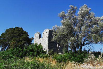 Ruine einer Byzantinischen Basilika