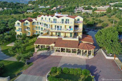 The Hotel Lassi on Kefalonia