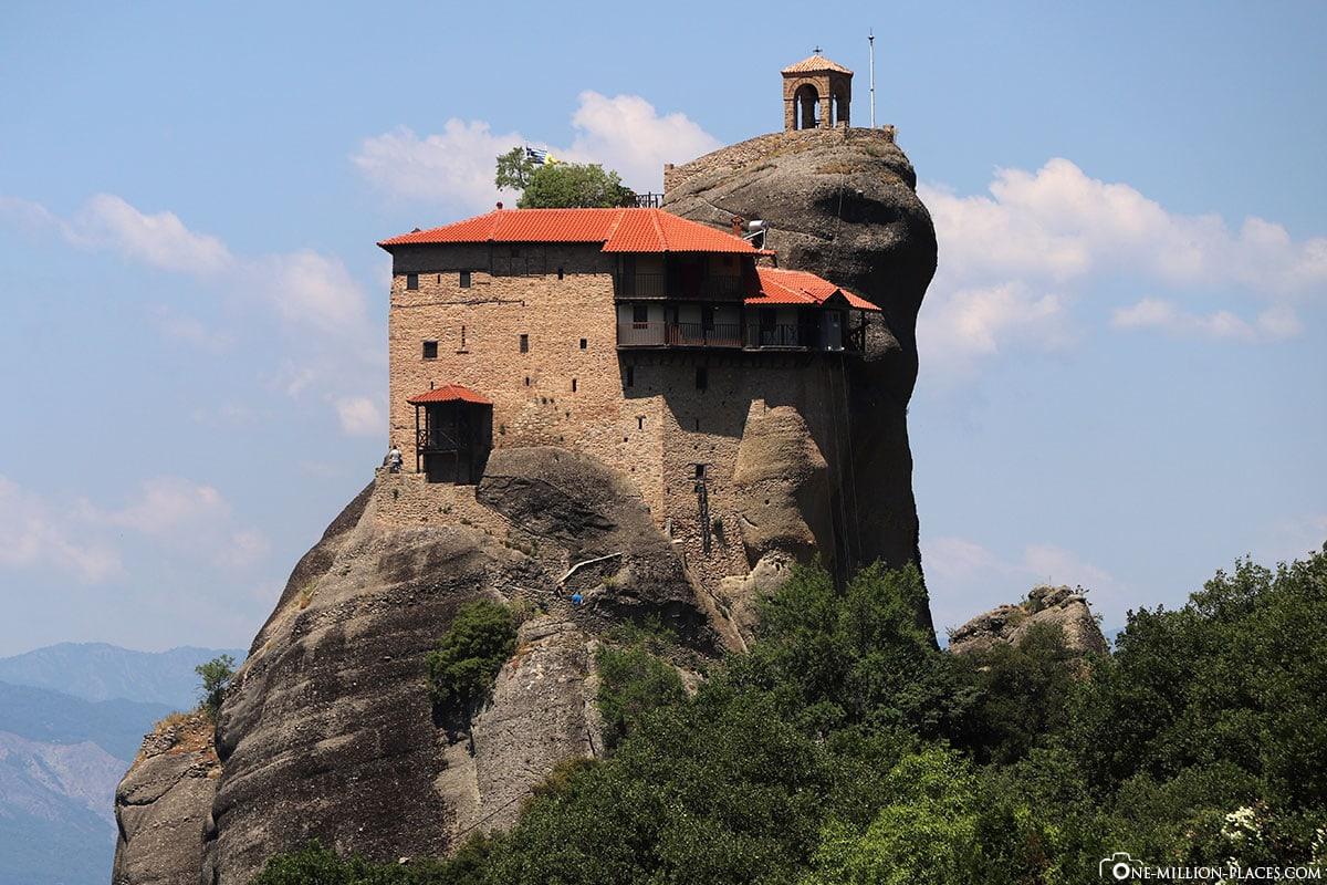 Kloster Agios Nikolaos Anapavsas, Kalambaka, Thessalien, Griechenland, Μετέωρα, UNESCO Weltkulturerbe, Erfahrung, Tipps, Reisebericht