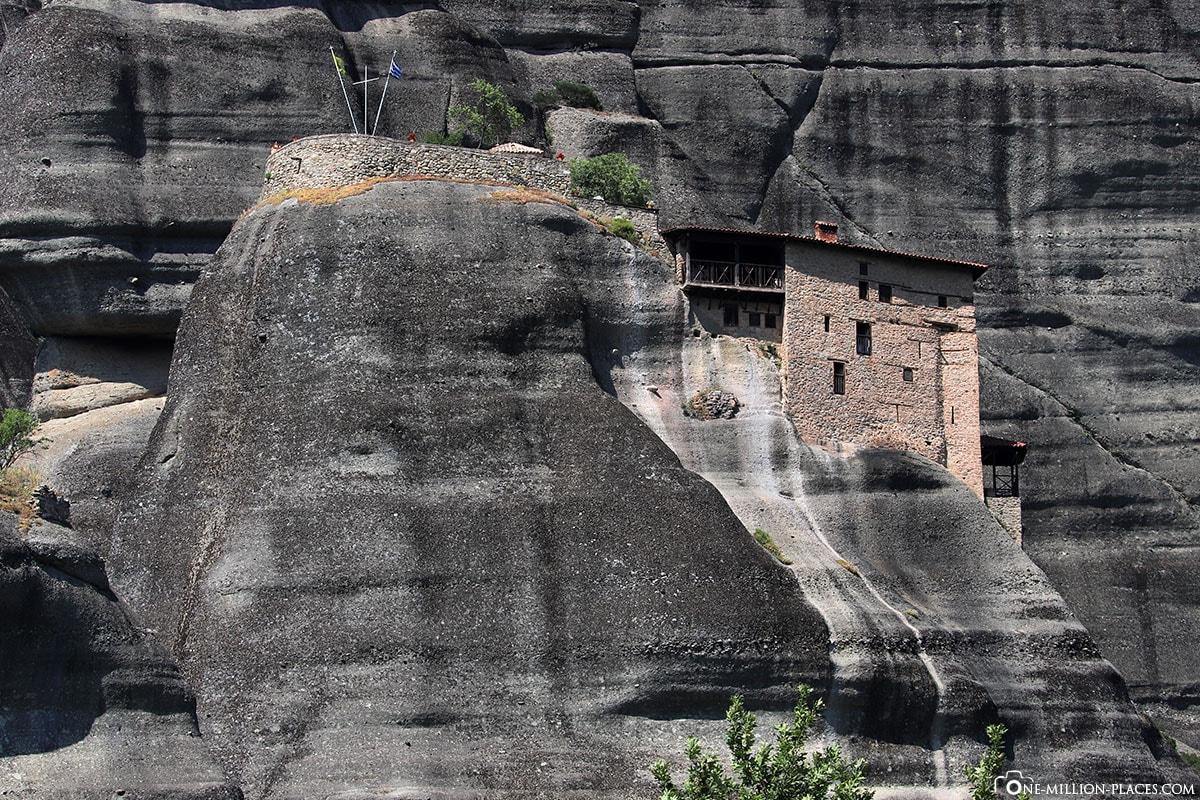 Berg, Kloster Agios Nikolaos Anapavsas, Kalambaka, Thessalien, Griechenland, Μετέωρα, UNESCO Weltkulturerbe, Erfahrung, Tipps, Reisebericht