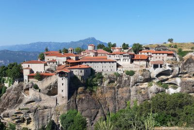 The Monastery of Great Meteoro