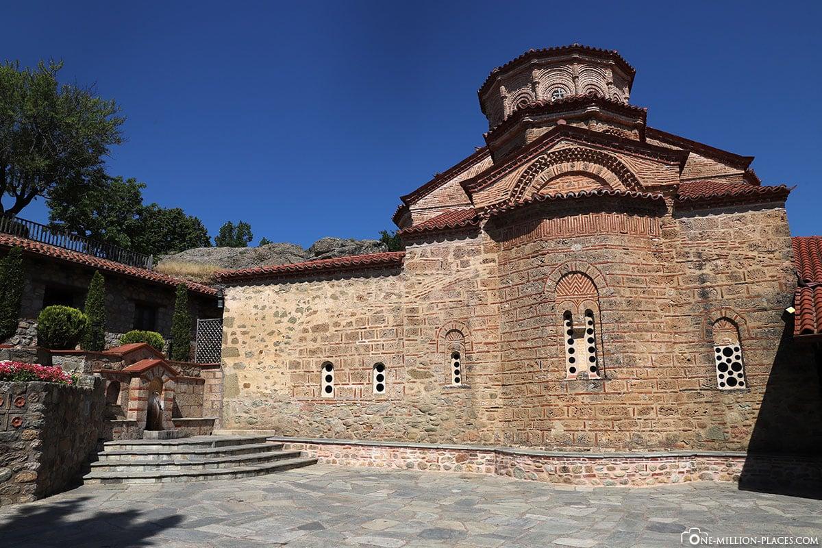 Kapelle, Kloster Great Meteoro, Megálo Metéoro, Kalambaka, Thessalien, Griechenland, Μετέωρα, UNESCO Weltkulturerbe, Erfahrung, Tipps, Reisebericht