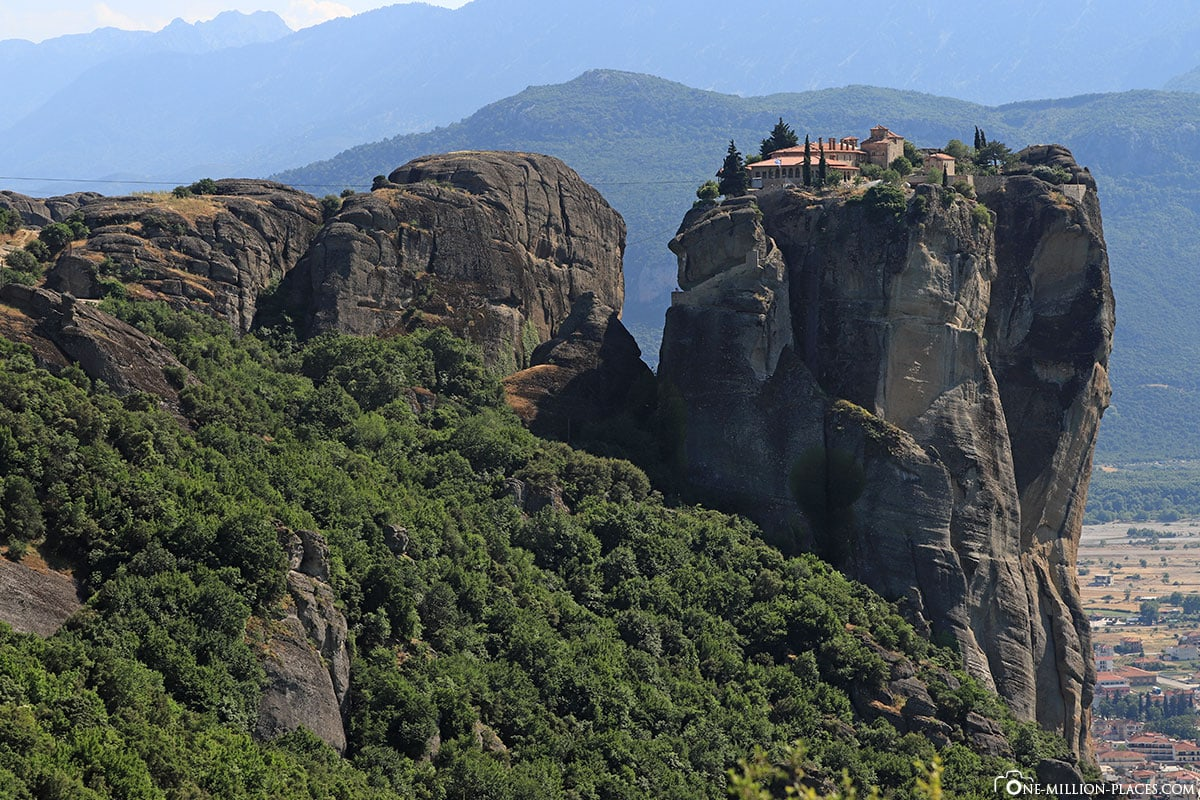 Kloster Holy Trinity, Meteora, Agía Triáda, Kalambaka, Thessalien, Griechenland, Μετέωρα, UNESCO Weltkulturerbe, Erfahrung, Tipps, Reisebericht