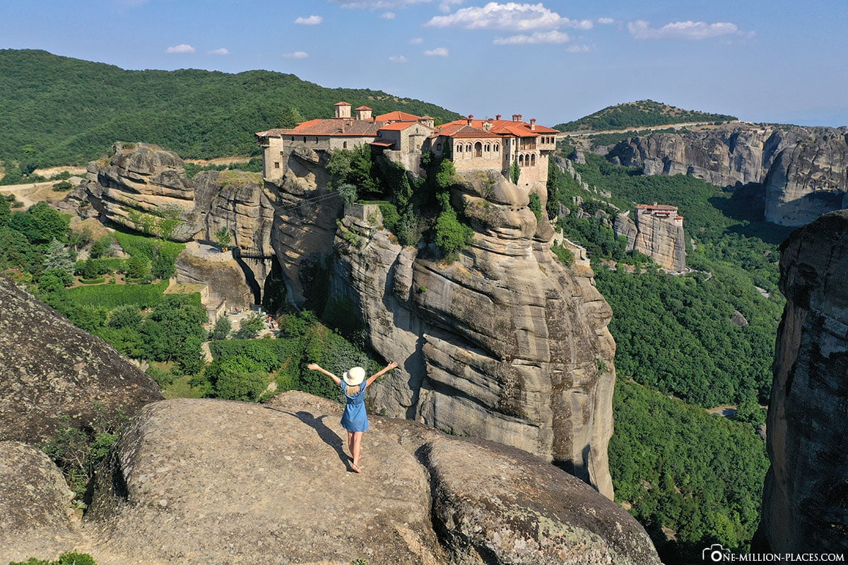 Instagram Spot, Kloster Varlaam, Meteora, Kalambaka, Thessalien, Griechenland, Μετέωρα, UNESCO Weltkulturerbe, Erfahrung, Tipps, Reisebericht