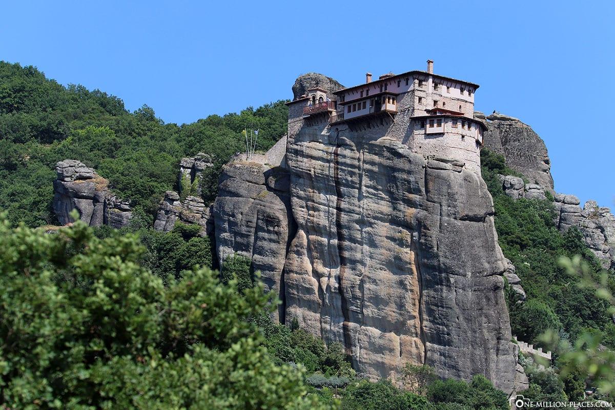 Kloster Varlaam, Meteora, Kalambaka, Thessalien, Griechenland, Μετέωρα, UNESCO Weltkulturerbe, Erfahrung, Tipps, Reisebericht