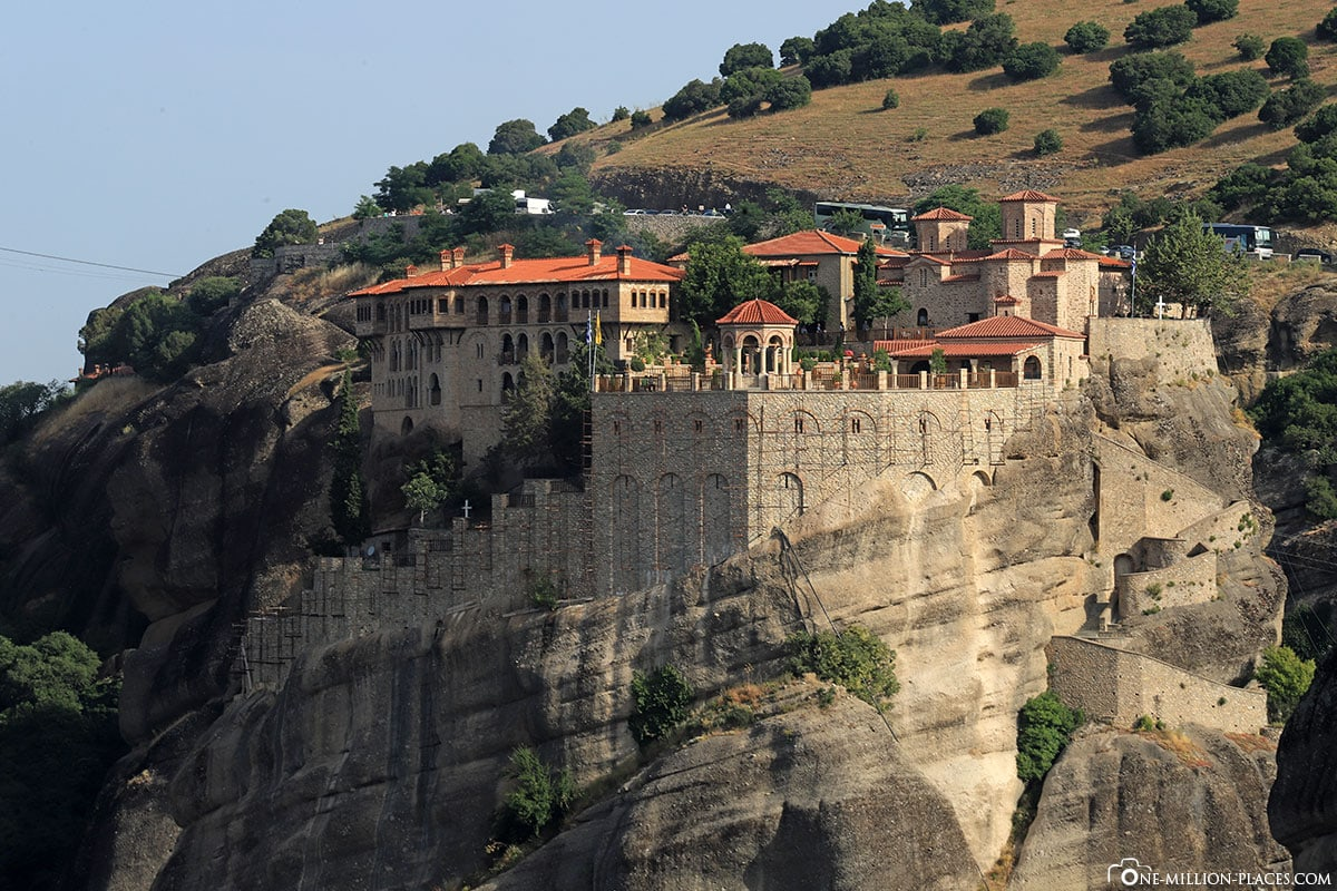 Varlaam, Kloster, Meteora, Kalambaka, Thessalien, Griechenland, Μετέωρα, UNESCO Weltkulturerbe, Erfahrung, Tipps, Reisebericht