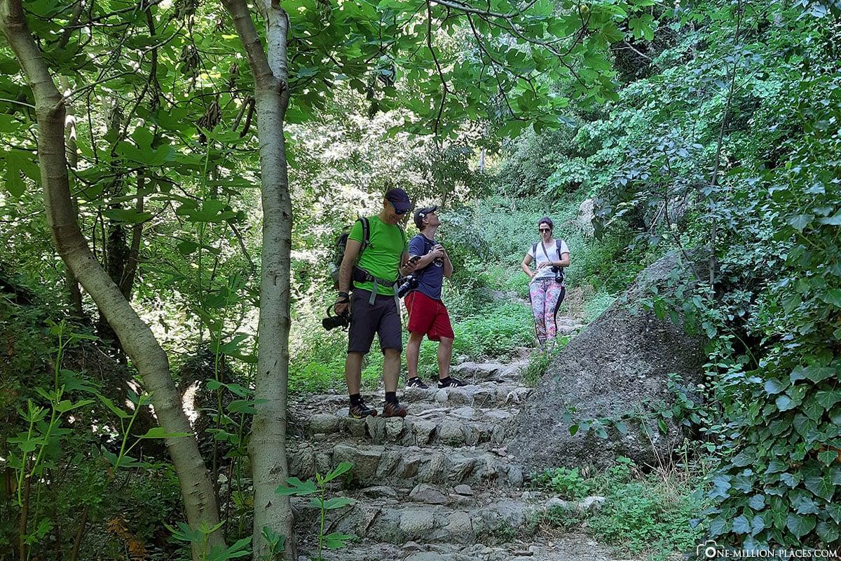 Wanderweg, Meteora Photo Tour, Kalambaka, Thessalien, Griechenland, Μετέωρα, UNESCO Weltkulturerbe, Erfahrung, Tipps, Reisebericht
