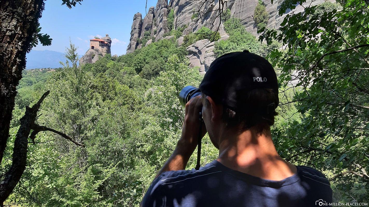 Fotospot, Meteora Photo Tour, Kalambaka, Thessalien, Griechenland, Μετέωρα, UNESCO Weltkulturerbe, Erfahrung, Tipps, Reisebericht