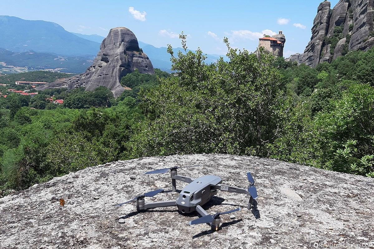 Drohne, DJI Mavic Pro 2, Meteora Photo Tour, Kalambaka, Thessalien, Griechenland, Μετέωρα, UNESCO Weltkulturerbe, Erfahrung, Tipps, Reisebericht