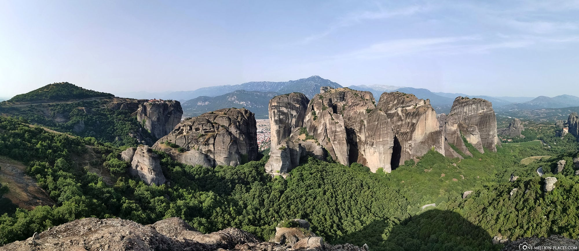 Rocky Landscape, Mountains, Meteora, Travelreport, Photospot, Greece