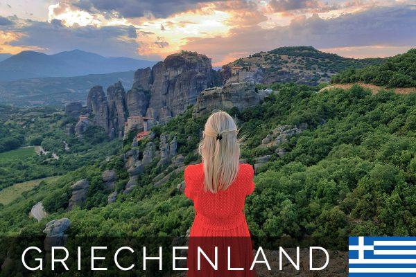 Meteora - Anreise, Hotel & Sunset Tour (Griechenland)