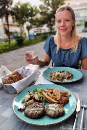 Dinner at the Restaurant Valia Calda