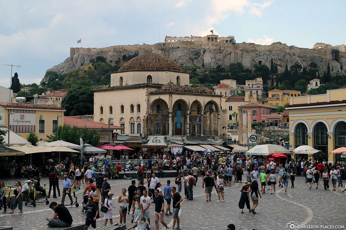 Monastiraki Square, Athen, Innenstadt, Monastiraki, Griechenland, Sehenswürdigkeiten, Auf eigene Faust, Reisebericht, Fotospot