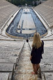 Panathinaiko Stadium in Athens