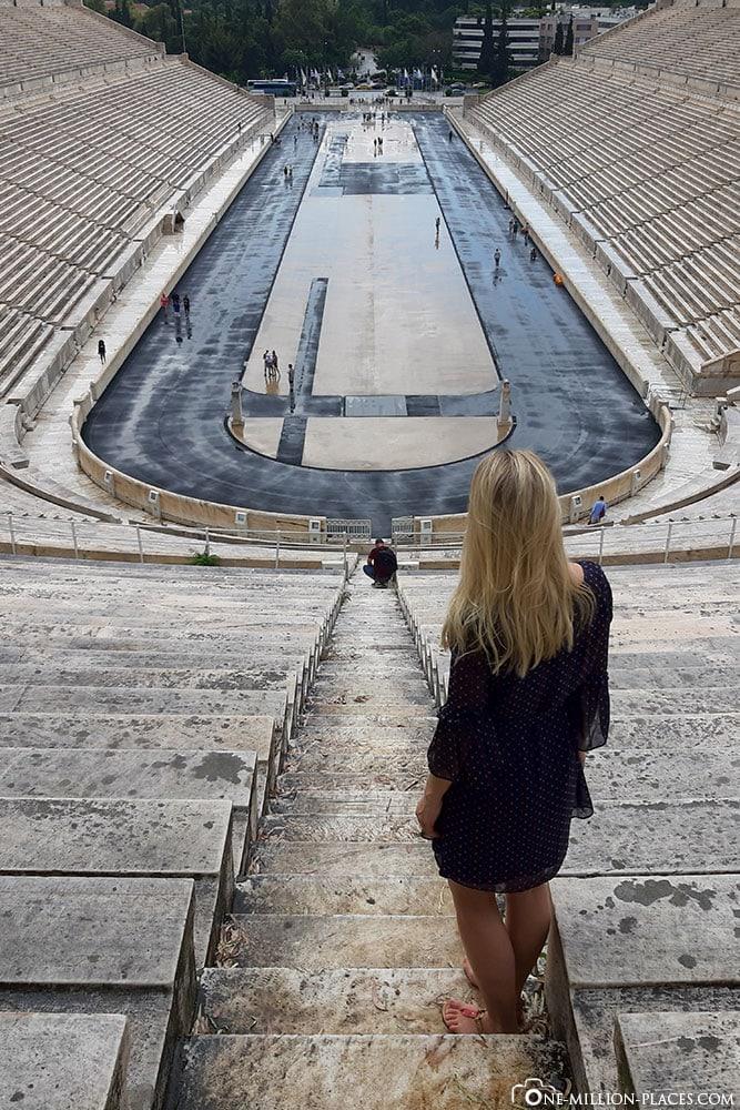 Panathenaic Stadium, Athen, Griechenland, Sehenswürdigkeiten, Auf eigene Faust, Reisebericht, Fotospot