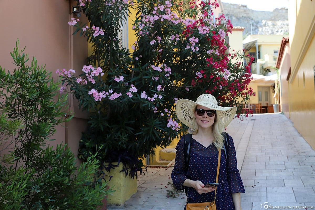 Plaka, Athen, Griechenland, Sehenswürdigkeiten, Auf eigene Faust, Reisebericht, Fotospot