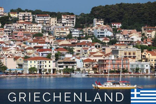 Argostoli - die Hauptstadt der Insel Kefalonia (Griechenland)