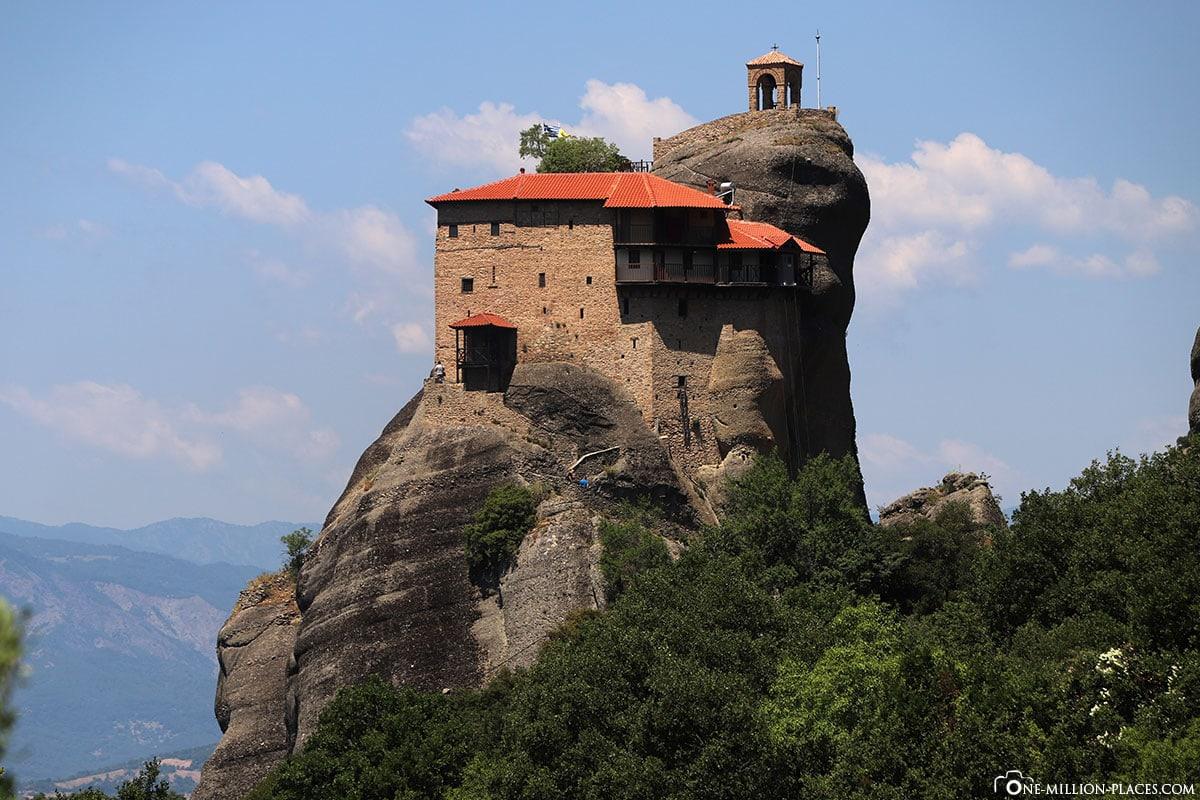 Agios Nikolaos Anapavsas, Kloster, Meteora, Kalabaka, Griechenland, Sunset Tour, UNESCO Weltkulturerbe, Reisebericht