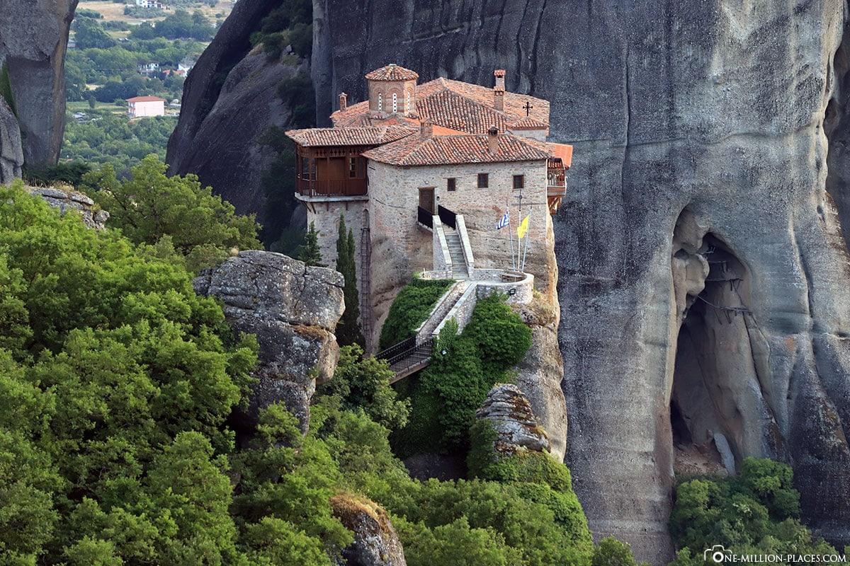 Rousanou, Kloster, Meteora, Kalabaka, Griechenland, Sunset Tour, UNESCO Weltkulturerbe, Reisebericht