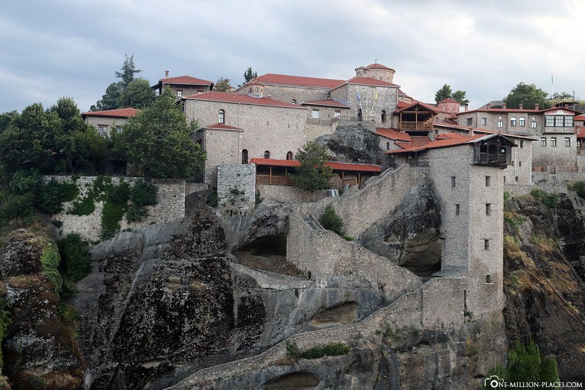 Great Meteoro, Kloster, Meteora, Kalabaka, Griechenland, Sunset Tour, UNESCO Weltkulturerbe, Reisebericht