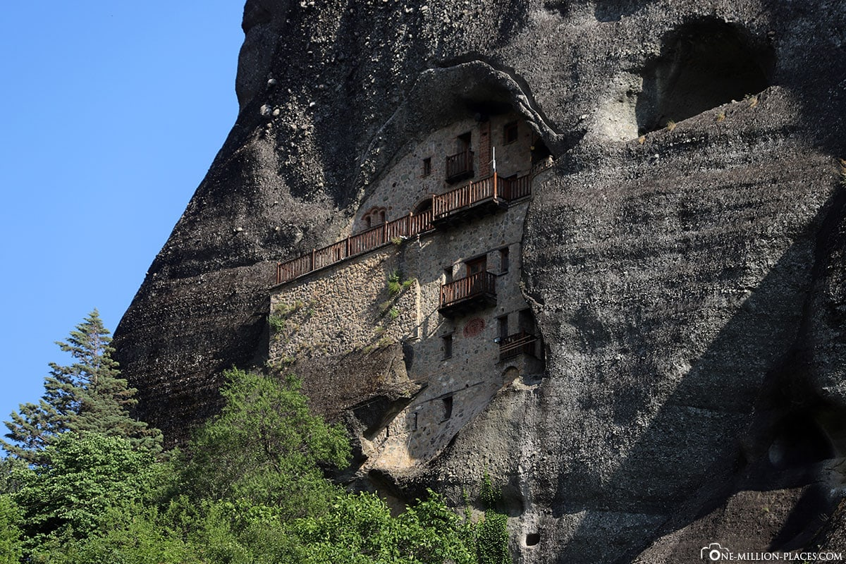 St. Nicholas Badovas, Ágios Nikólaos Bándovas, Meteora, Kalabaka, Griechenland, Sunset Tour, UNESCO Weltkulturerbe, Reisebericht