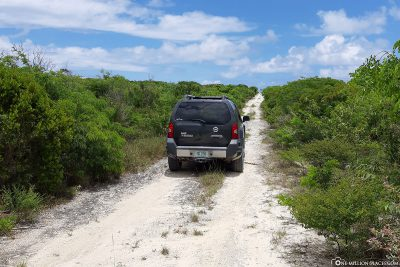 The way to the Blue Hole