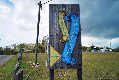 Das Fort Charlotte in Nassau