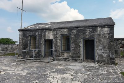 The Guardhouse in Fort Charlotte