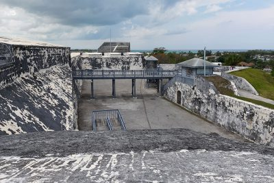 The largest of the three fortresses in Nassau