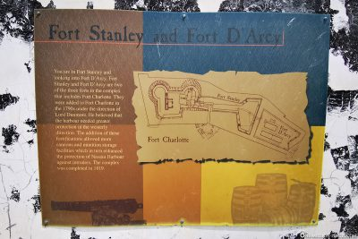 Fort Stanley & Fort D'Arcy