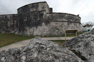 Das Fort Fincastle